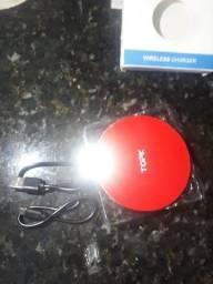 Carregador Wireless - novo na caixa