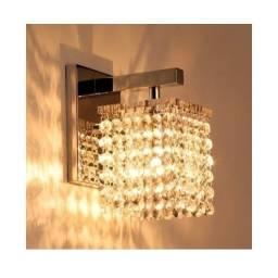 Luminária/Arandela De Cristal Lizzie 1 Lâmpada Blumenau Iluminação Usada