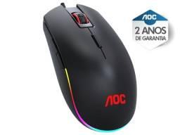 mouse gamer agon aoc (107452-7)  gm500 rgb 5.000 dpi 8 botoes preto