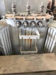 Transformador a óleo 300kvar 230v trifásico