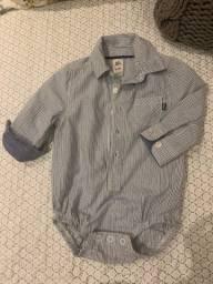 Body camisa social
