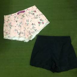 2 shorts 34