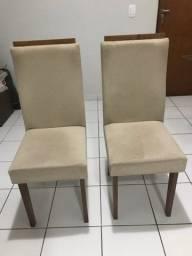Cadeira jantar estofada