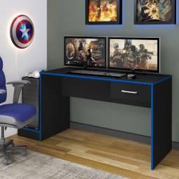 Título do anúncio: Mesa Escrivaninha Computador Gamer Artely C/ 1 Gaveta