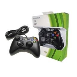 Título do anúncio: Controle Paralelo Xbox 360 com fio.