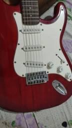 Kit Guitarra Giannini Sonic GGX-IS + Cubo <br>Meteoro MG-15
