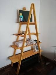 Estante prateleira escada