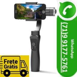 Estabilizador De Celular Para Filmar Portátil Com 3 Eixos Pau de Selfie (NOVO)