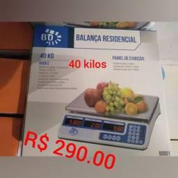 Balanças de 40/150/300/500/600 kilos