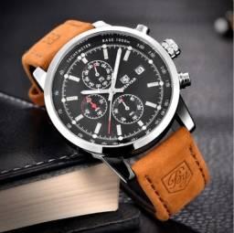 Relógio masculino Benyar original Novo
