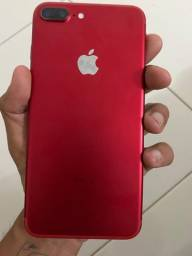Iphone 7 plus red 128gb (não aceita troca)