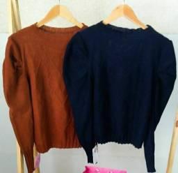 Casacos em tricot modal