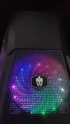 Gabinete Gamer com PSU Cover (Companha Grátis Cooler RGB!)