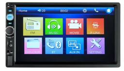 Central Multimídia Mp5 Usb Bluetooth Camera Re