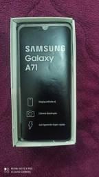 Galaxy A71 128GB e 6GB Impecável zero na caixa + NF e GARANTIA