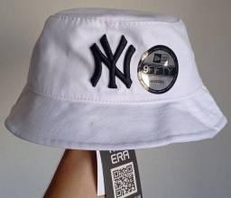 Chapéu bucket New Era branco
