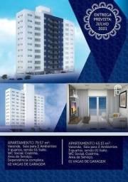 Título do anúncio: IC- Poucas unidades no Edf.  Costa Vitória  -3 quartos (1 suíte)- 65m²