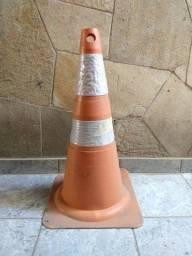 Cone de sinalização transito