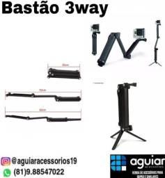 Bastão 3way para GoPro e similares