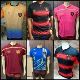 Camisas do sport.