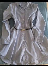 Vestido estilo camisa