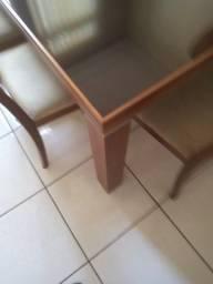 Mesa de imbuia para 6 cadeiras [somente mesa]