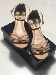 Sandália salto