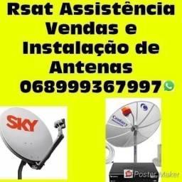 Rsat técnicos em antenas