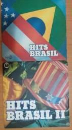 LPs Vinil - Hits Brazil - Volume I e II - Brasileiros que gravavam em Inglês