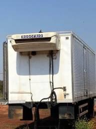 baú refrigerado frigorifico truck 16 pallets ibipora  gancheira