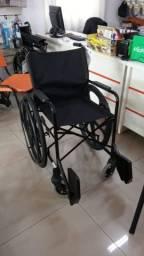 Cadeira de Rodas Simples para Capacidade 110 Kg