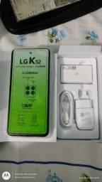 LG K 52. 64 GIGAS com 2 ANOS D GARANTIA