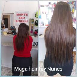 Mega hair no microlink