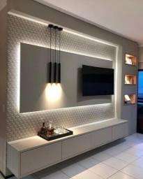 Painel para TV, rack, home 100% MDF