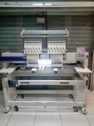 Máquina de bordado 2 cabeças lanmax