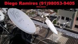 Reparos Técnicos em antenas via satélite