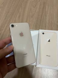 iPhone 8 64gb dourado!
