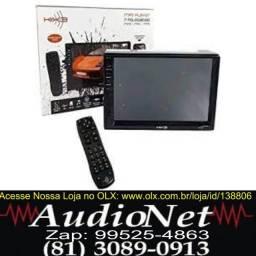 Central Multimídia Mp5 7 Polegadas Bluetooth Controle Kx3