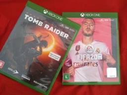 FIFA 20 E TOMB RAIDER