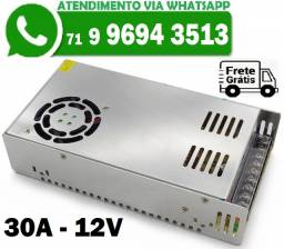 Fonte Chaveada Transformador Bivolts 12v 30A 600w (Nova)