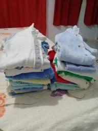 Lote de roupas de bebe