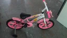 Bicicleta feminina para criança