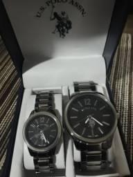 Relógio polo casal