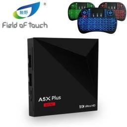 Tv box A5X Plus 2Gb 7.1 Configuração, Filmes, Series, Mini Teclado*, Entregamos, Dividimos