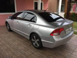 Vendo Honda civic 2008 LXS flex 82 mil km original - 2008
