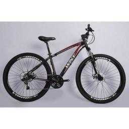 Bicicleta Absolute 2.1 Aro 29 Freios A Disco - Cor Preto/Vermelho