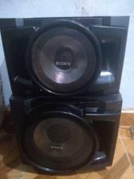 Vendo duas caixas para som da Sony muito potente