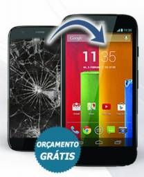 Tela Touch e Display Motorola Moto E1-E2-E4-E4 Plus-E5-E5 Play-E5 Plus