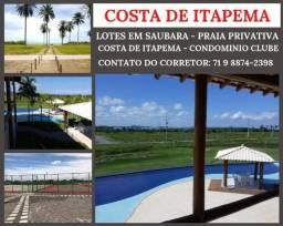 Lotes em Itapema, Pagamento Facilitado e Financiamento Direto e Apenas 10% de Entrada