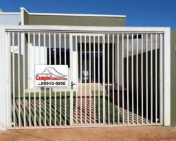 Casa nova no Santa Fé com edícula, próximo ao Ceasa, financia MCMV